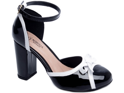 Sapato Peep Toe Feminino Torricella