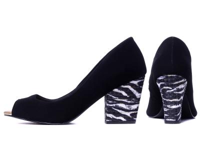 Sapato Peep Toe Torricella