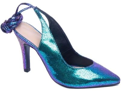 Sapato Scarpin Em Couro Torricella